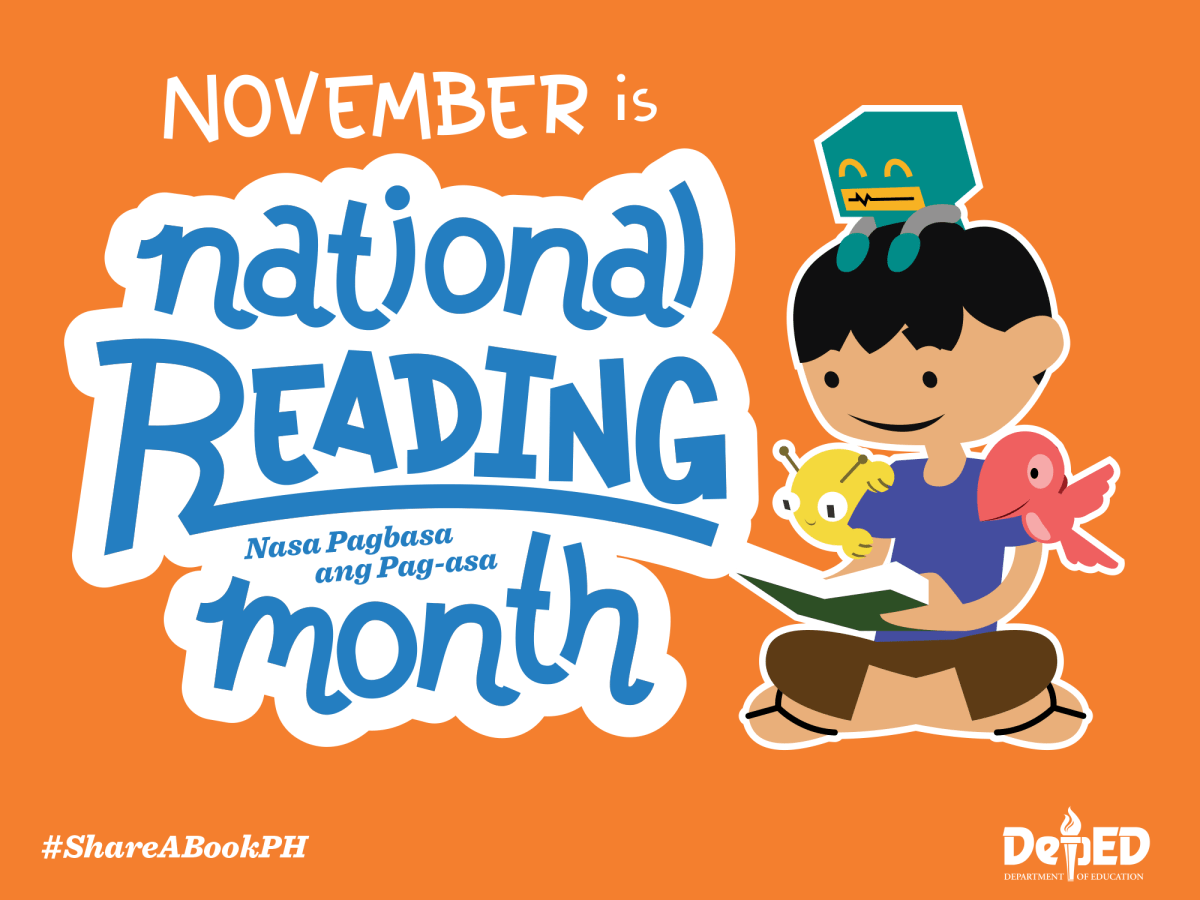 BUWAN NG PAGBASA – National Reading Month 2016 official theme